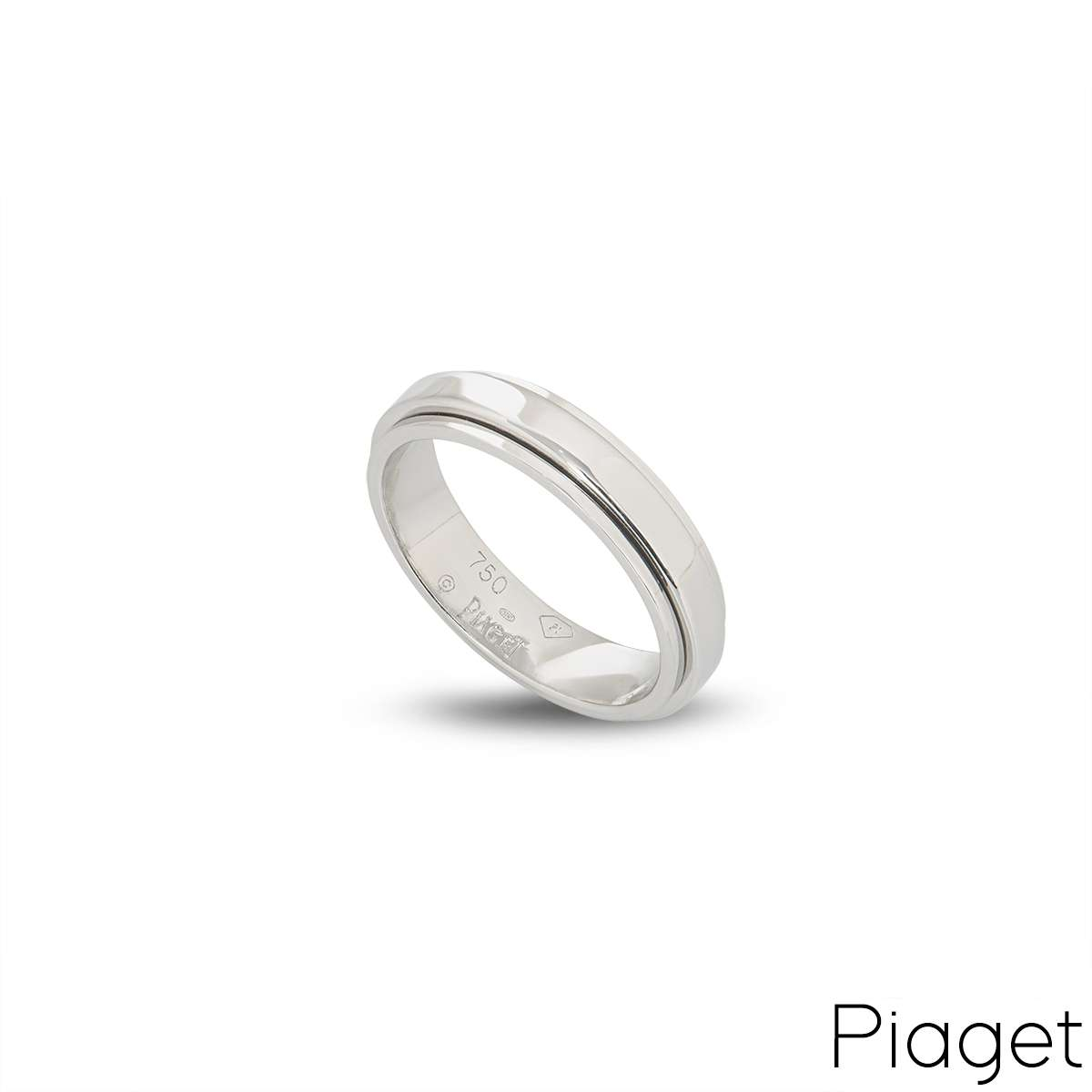 Piaget 18k White Gold Posession Ring B&P G34PK757